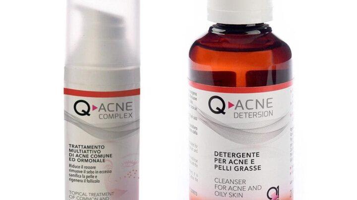 Come curare acne ? Un caso di studio del sito on line Q1Shop.it