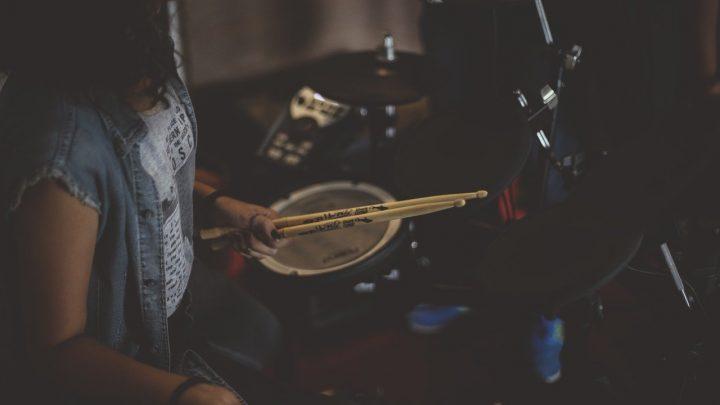 Prima di iniziare a suonare la batteria